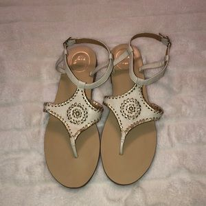 Jack Rogers sandals size 8.5 very good condition